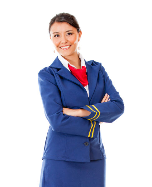 Air Hostess Uniform Jacket and Neckerchief