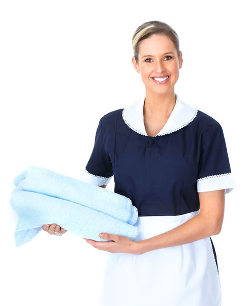 Cleaner Maid uniform in Hotel